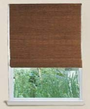 Blackout lining - bamboo blinds