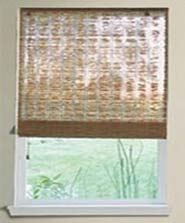 no lining bamboo blinds