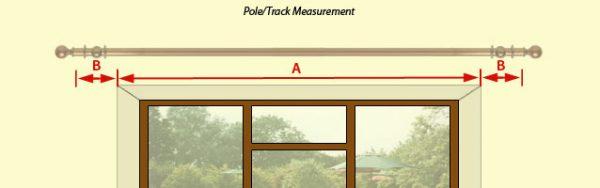 Measure for pole or track 1 600x188 - CÁCH TÍNH MÀN VẢI