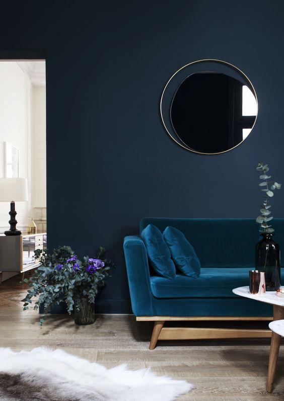 phòng màu xanh -1