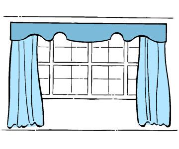 Panels Valance - Những Mẫu Rèm Cửa Đẹp