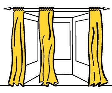 Panels on a Rod - Những Mẫu Rèm Cửa Đẹp